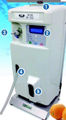 Alkaline ion machine